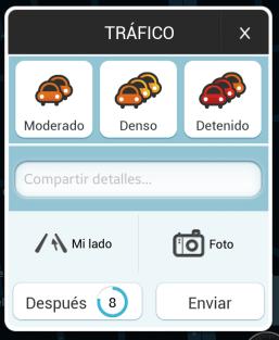 Alerta de Tráfico