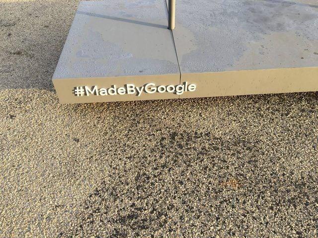 Google teaser 4 octubre estatua