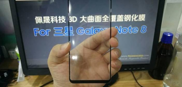 Este inmenso panel filtrado pertenecería al Samsung Galaxy Note 8