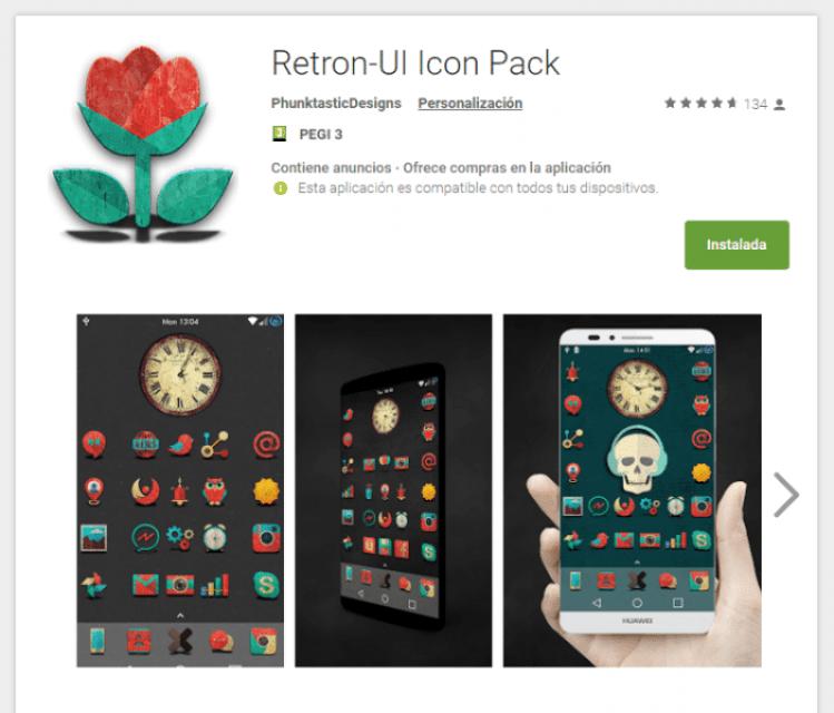 Retron UI Icon Pack