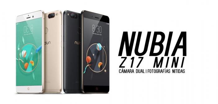 Nubia Z17 mini, un gran smartphone con cámara dual