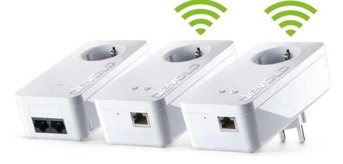 Multiroom WiFi Kit 550+ de devolo, el WiFi con Mesh-Comfort para una cobertura completa en toda casa