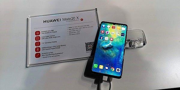 Huawei Mate 20 X, a camino entre el ocio y el negocio