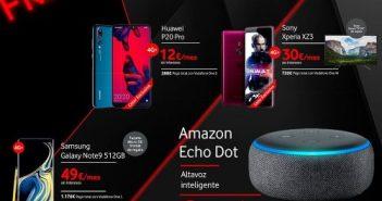 Amazon ECHO, V-HOME y terminales al mejor precio forman parte del menú de Vodafone para este Black Friday