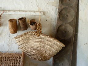 Three types of basket weaving found in Cyprus.