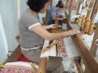 Weaving courtesy of the Handicraft Centre