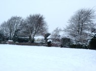 Tangmere in the snow