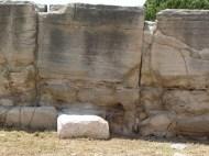some of the massive stones used originally