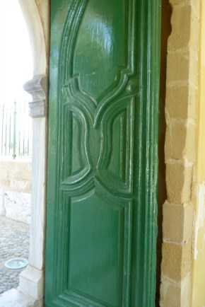 Door in the mosque