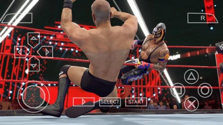 WWE 2K21 PSP ISO GAME