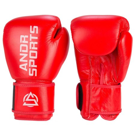 Lather boxing gloves