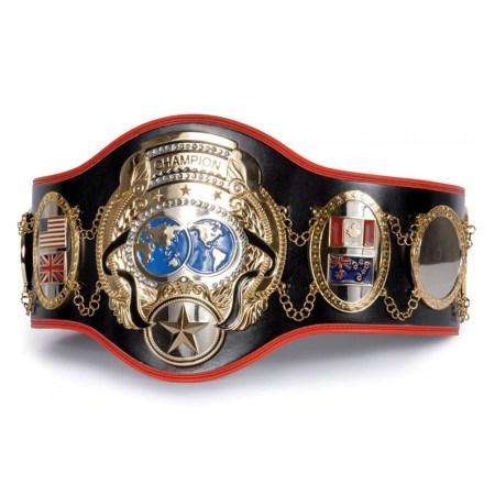 Boxing title belts