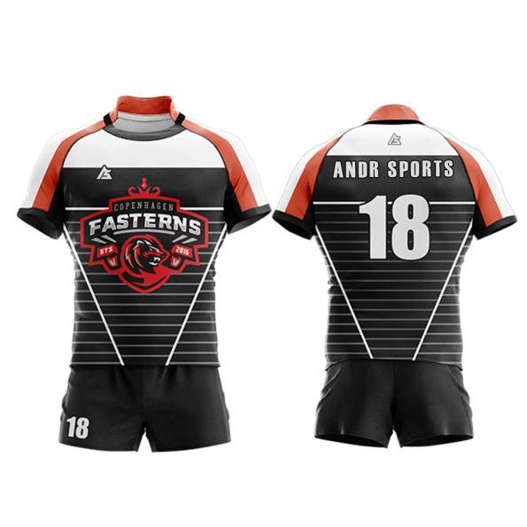 Rugby uniform andr sports RU009