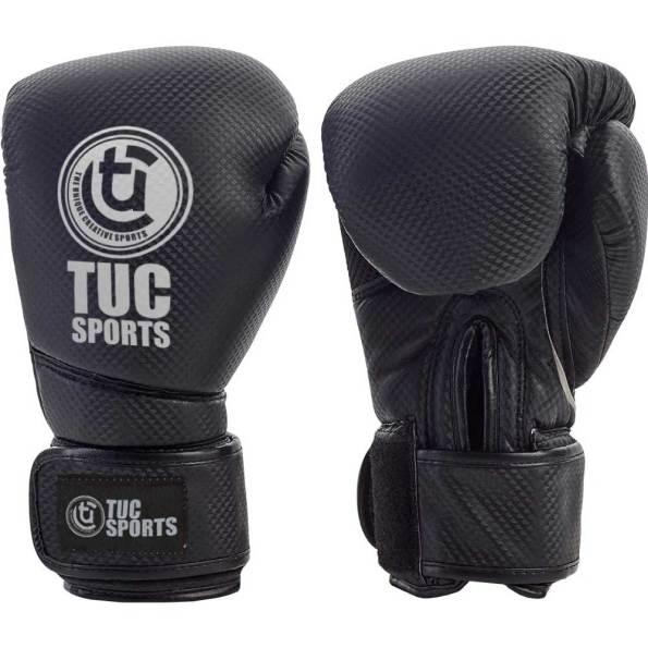 Tuc-Sports-carbon-boxing-gloves-Black