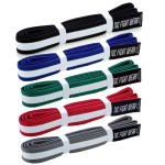 white-striped-belt-tuc fight wear