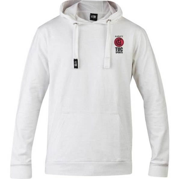 tuc-Sports-Karate-Club-Hooded-Top-White