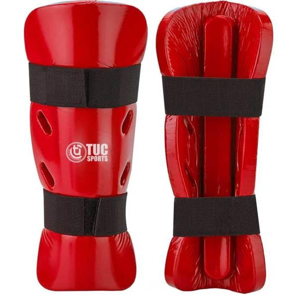 tuc-sports-Dipped-Foam-Shin-&-Instep-Guards-dipped-foam-shin-Red