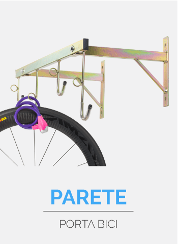 parete porta bici