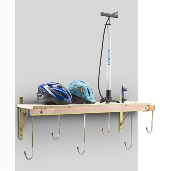 porta bici a parete 6 posti