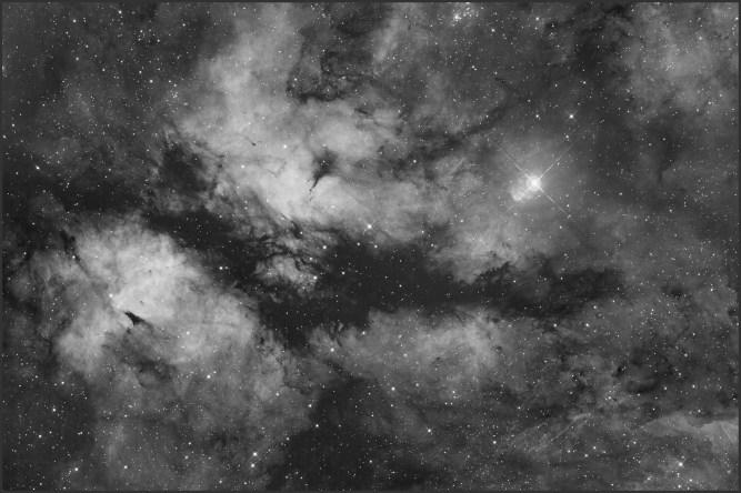 IC 1318, Ha-10x900s bin1