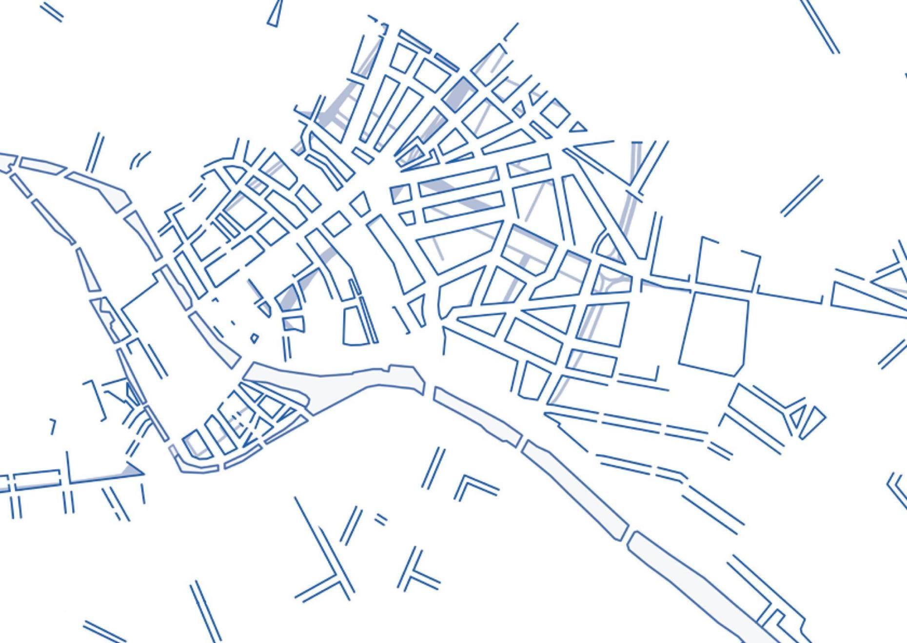 Sencer Vardarman Demolished Quarters Berlin - Ausschnitt 100x120cm, 2017 Digital Print Mounted on Forex