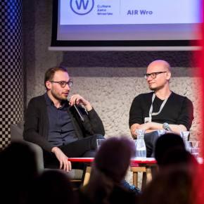 "Air Wro Talks, ""Wrocław - Berlin Platform for creative sectors"" discussion [16.03.2018], Photos: Marcin Jędrzejczak"
