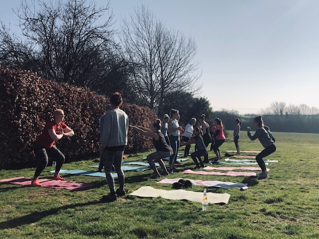 Yoga at Poundon