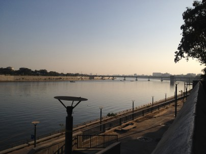 The Sabarmati Waterfront/Promenade