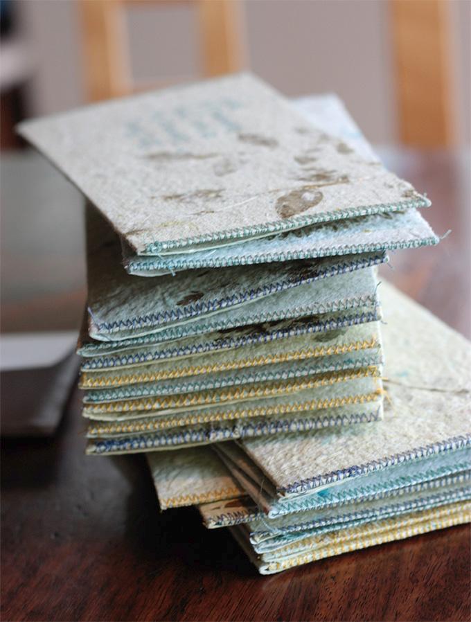 Show + Tell: Handmade Paper Envelopes #adventuresinmaking #crafting #craft