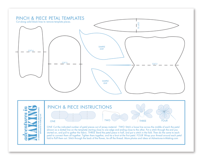 pinch&piecepetals_template