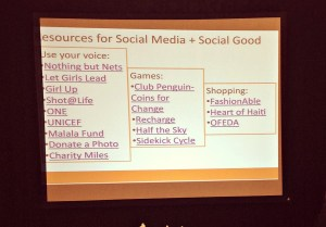 Some ways to use social media for social good.