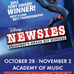 Newsies Comes to the Academy of Music