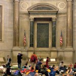 National Archives Foundation Sleepover in Rotunda