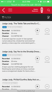 DVR Judge Judy