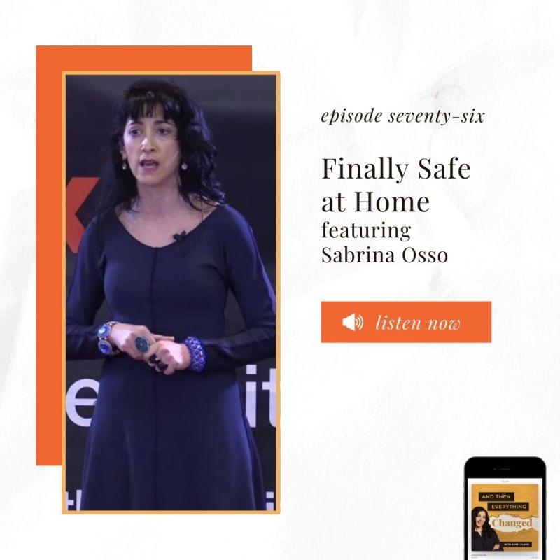 ATEC - Episode 76: Finally Safe at Home ft. Sabrina Osso