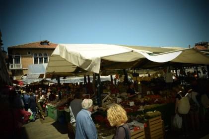 Farmer's market in Venice