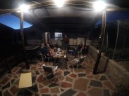 Barbecue (braai) with Lesley the farmer, our Namibian AirBnB host