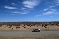 """""""Is there anybody out there?"""" The vast spaces of Namibia"""