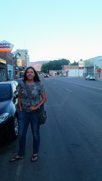 Relieved to have arrived after an 8 hour drive. Ely, NV