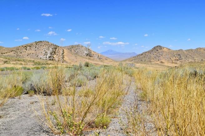 Dry but beautiful landscape in Utah
