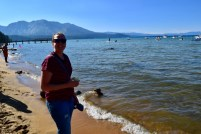Charlene at Lake Tahoe