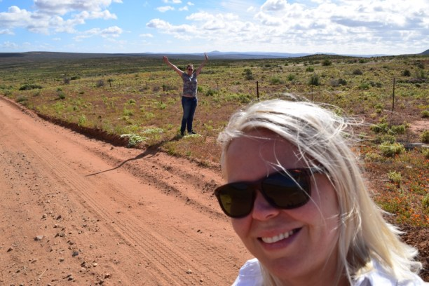 A brief stop in the middle of nowhere in South Africa