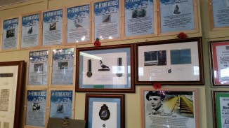 an exhibit recognizing the pigeons for the contribution to the war effort. Yes, pigeons.