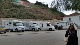 trailers in Alte, just up the street from us