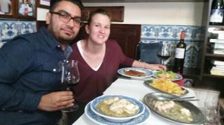 My hosts/tour guides/translators/co-conspirators