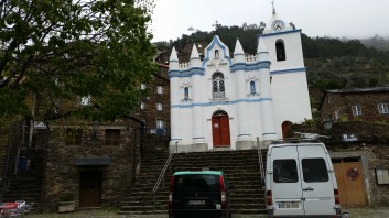 When we entered the town, we first saw the church