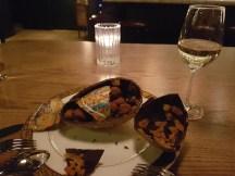 Having the world's bougiest dessert at La Banane.