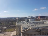 View of the White House while eating lunch at the W Hotel