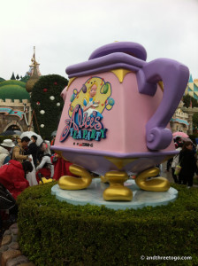 Then Alice in Wonderland's Tea Cups.