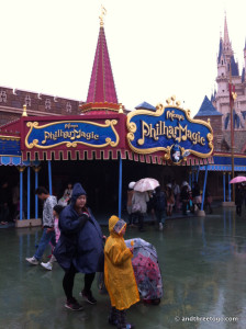 A 3D show called Philharmagic was our next destination.